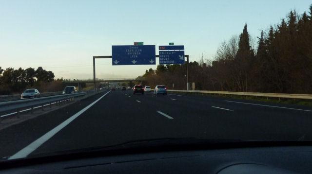 Vitesse minimum sur autoroute